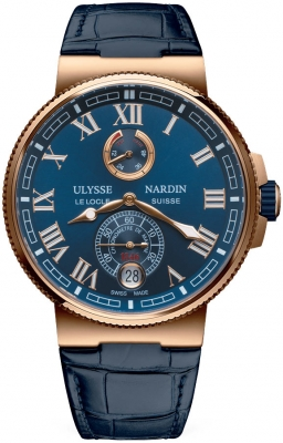 Ulysse Nardin Marine Chronometer Manufacture 43mm 1186-126/43