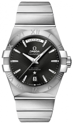 Omega Constellation Co-Axial Automatic Day Date 38mm 123.10.38.22.01.001