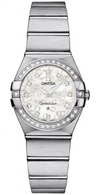 Omega Constellation Brushed 24mm 123.15.24.60.55.005