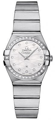 Omega Constellation Brushed 24mm 123.15.24.60.55.006