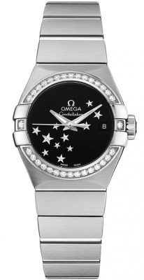 Omega Constellation Co-Axial Automatic Star 27mm 123.15.27.20.01.001