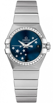 Omega Constellation Co-Axial Automatic Star 27mm 123.15.27.20.03.001
