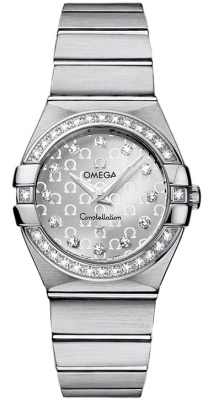 Omega Constellation Brushed 27mm 123.15.27.60.52.001