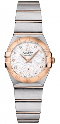 Omega Constellation Brushed 24mm 123.20.24.60.55.007
