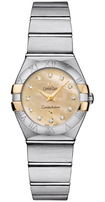 Omega Constellation Brushed 24mm 123.20.24.60.57.002