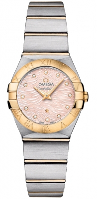 Omega Constellation Brushed 24mm 123.20.24.60.57.004