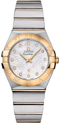 Omega Constellation Brushed 27mm 123.20.27.60.55.008