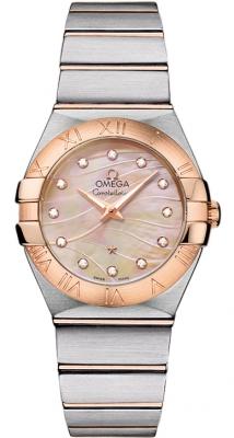 Omega Constellation Brushed 27mm 123.20.27.60.57.002