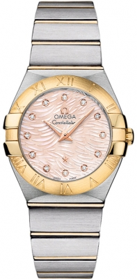 Omega Constellation Brushed 27mm 123.20.27.60.57.005