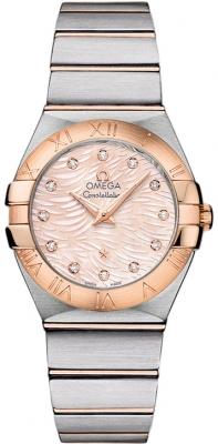 Omega Constellation Brushed 27mm 123.20.27.60.57.004