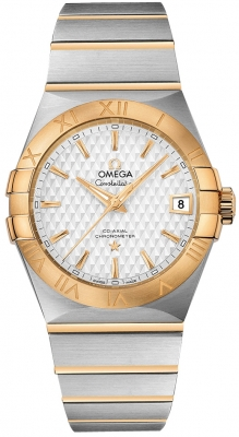 Omega Constellation Co-Axial Automatic 38mm 123.20.38.21.02.009
