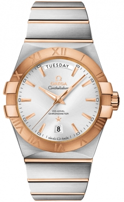 Omega Constellation Co-Axial Automatic Day Date 38mm 123.20.38.22.02.001