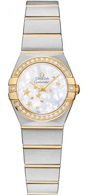 Omega Constellation Star 24mm 123.25.24.60.05.001