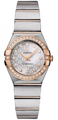 Omega Constellation Brushed 24mm 123.25.24.60.52.001