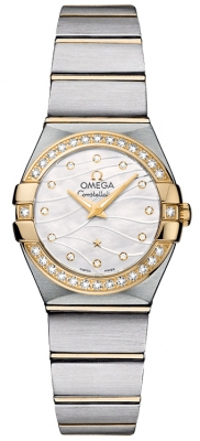 Omega Constellation Brushed 24mm 123.25.24.60.55.011