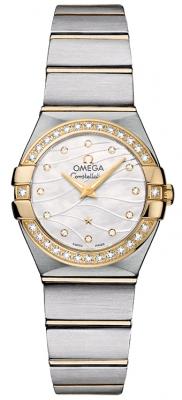 Omega Constellation Brushed 24mm 123.25.24.60.55.011