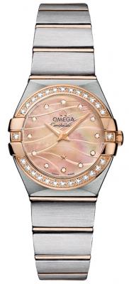 Omega Constellation Brushed 24mm 123.25.24.60.57.002