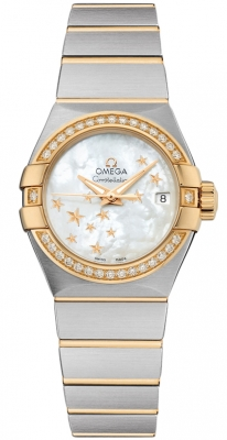 Omega Constellation Co-Axial Automatic Star 27mm 123.25.27.20.05.001