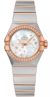 Omega Constellation Co-Axial Automatic Star 27mm 123.25.27.20.05.002