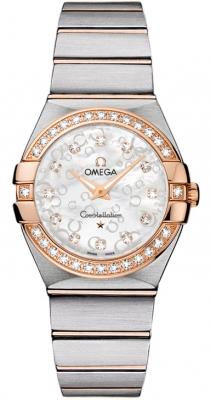 Omega Constellation Brushed 27mm 123.25.27.60.55.009