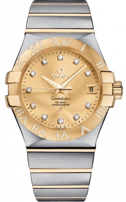 Omega Constellation Co-Axial Automatic 35mm 123.25.35.20.58.002