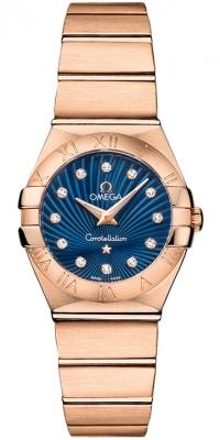 Omega Constellation Brushed 24mm 123.50.24.60.53.001