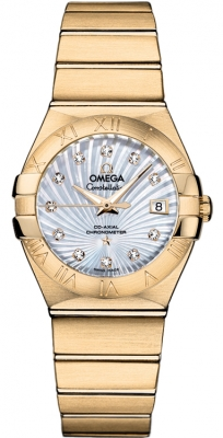 Omega Constellation Co-Axial Automatic 27mm 123.50.27.20.55.002