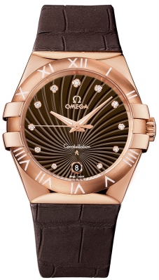 Omega Constellation Quartz 35mm 123.53.35.60.63.001