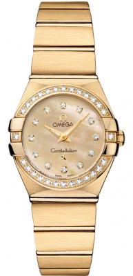 Omega Constellation Brushed 24mm 123.55.24.60.57.001