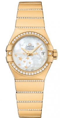 Omega Constellation Co-Axial Automatic Star 27mm 123.55.27.20.05.002
