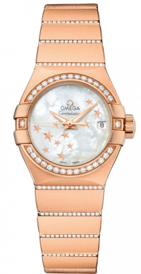 Omega Constellation Co-Axial Automatic Star 27mm 123.55.27.20.05.004