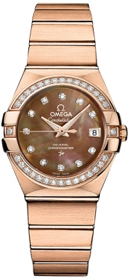 Omega Constellation Co-Axial Automatic 27mm 123.55.27.20.57.001