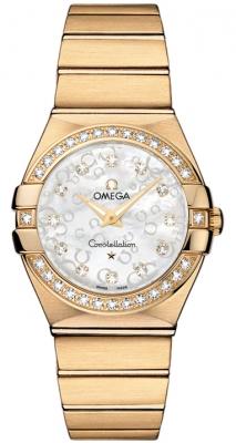 Omega Constellation Brushed 27mm 123.55.27.60.55.016