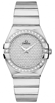 Omega Constellation Brushed 27mm 123.55.27.60.99.001