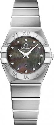Omega Constellation Brushed 24mm 123.10.24.60.57.003
