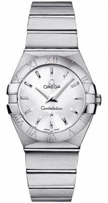 Omega Constellation Brushed 27mm 123.10.27.60.02.001