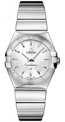 Omega Constellation Polished 27mm 123.10.27.60.02.002