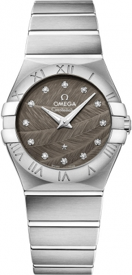Omega Constellation Brushed 27mm 123.10.27.60.56.001