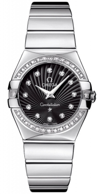 Omega Constellation Polished 27mm 123.15.27.60.51.002