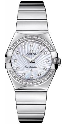 Omega Constellation Polished 27mm 123.15.27.60.55.004