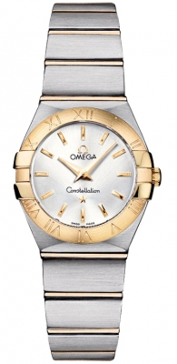Omega Constellation Brushed 24mm 123.20.24.60.02.002