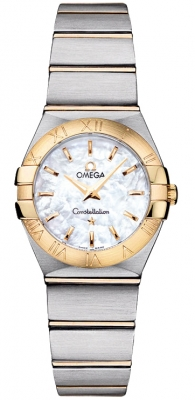 Omega Constellation Brushed 24mm 123.20.24.60.05.002