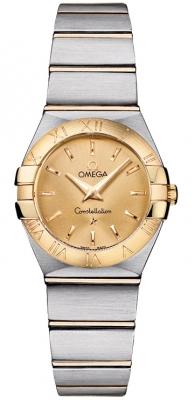 Omega Constellation Brushed 24mm 123.20.24.60.08.001