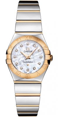 Omega Constellation Polished 24mm 123.20.24.60.55.004