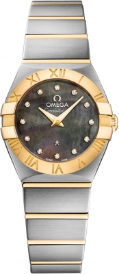 Omega Constellation Brushed 24mm 123.20.24.60.57.006