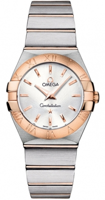 Omega Constellation Brushed 27mm 123.20.27.60.02.001