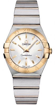 Omega Constellation Brushed 27mm 123.20.27.60.02.002