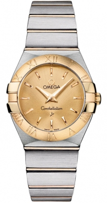 Omega Constellation Brushed 27mm 123.20.27.60.08.001