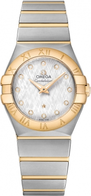 Omega Constellation Brushed 27mm 123.20.27.60.52.001