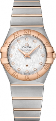 Omega Constellation Brushed 27mm 123.20.27.60.52.002